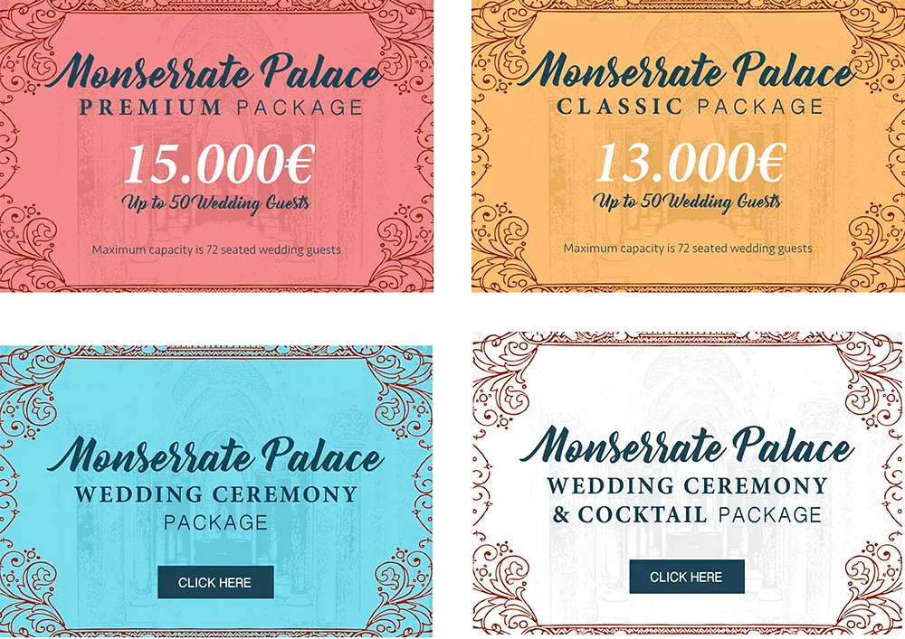 Monserrate Wedding Packages