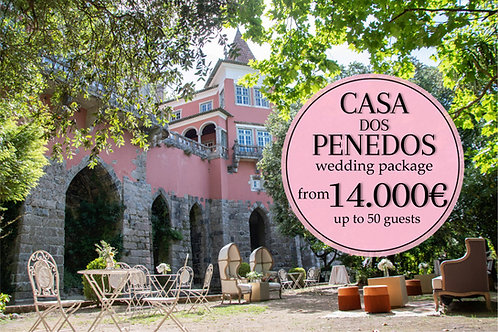 Casa dos Penedos Wedding Package