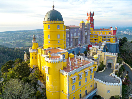 Your Fairytale Castle Wedding in Portugal