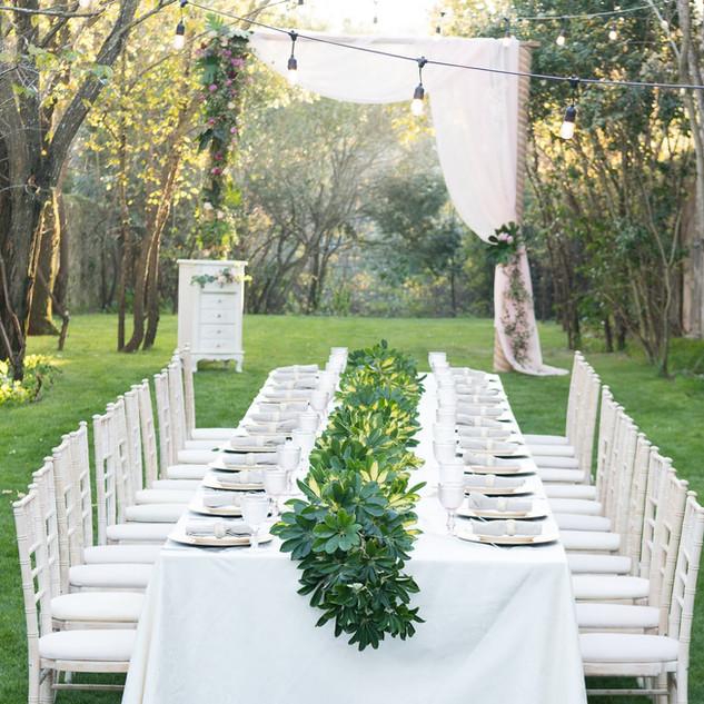 Groene bruiloft bij Quinta do Torneiro in Lissabon, Portugal