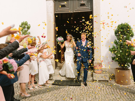 Real Wedding in Monserrate Palace Sintra Portugal - Ana and Darren