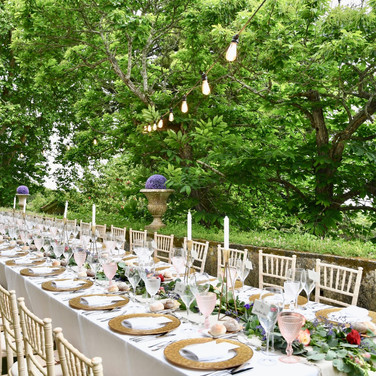 Outdoor wedding by Lisbon wedding planner in Portugal