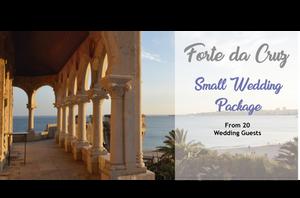 Forte da Cruz Small Wedding Package Portugal