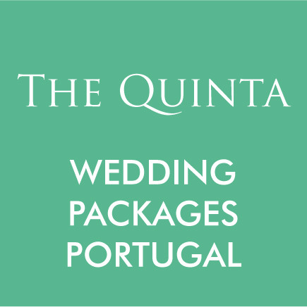 Packages for a destination wedding at The Quinta My Vintage Wedding Venue in Portugal