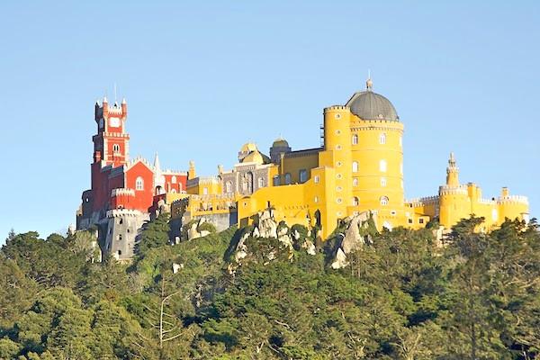 Pena Palace Wedding Destination Portugal