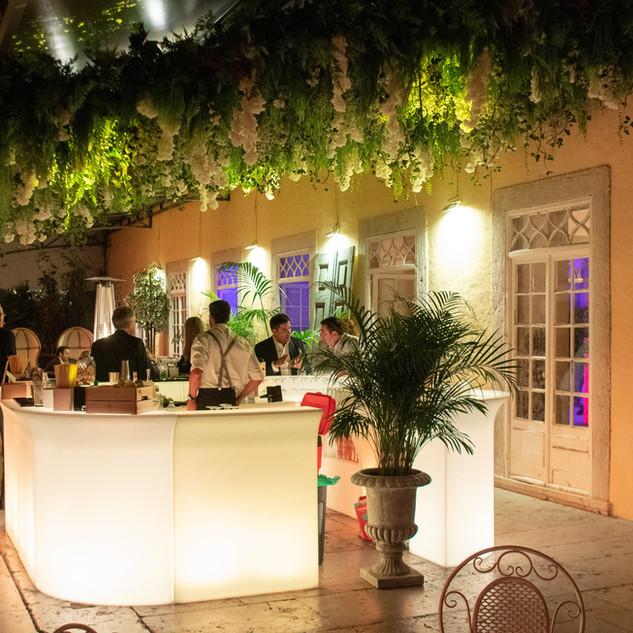 Bar de LED da Quinta do Torneiro