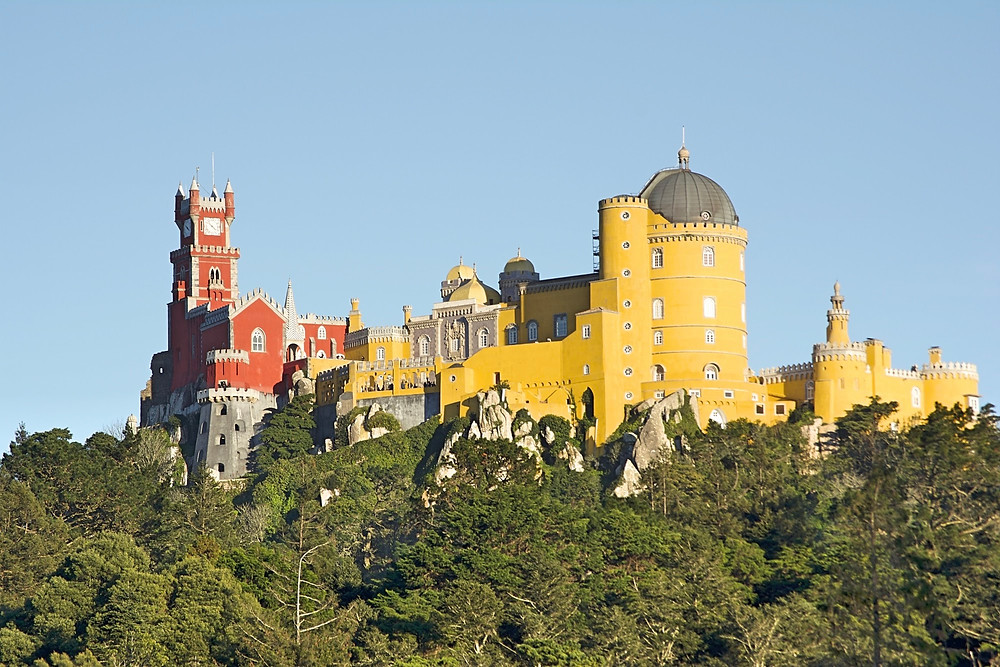 Palacio da pena wedding portugal, lisbon wedding planner, luxury wedding portugal