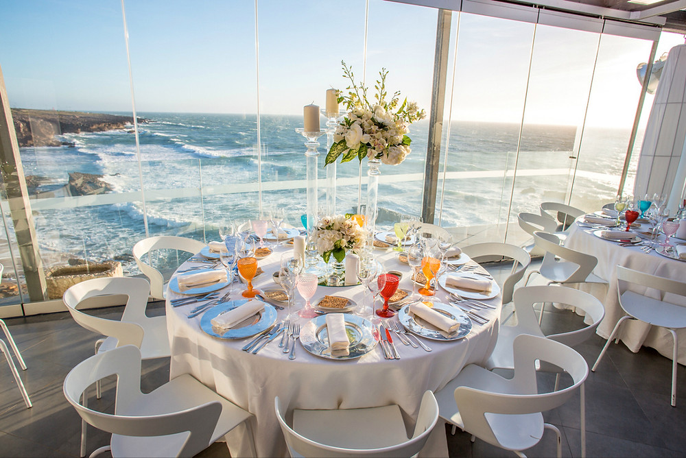 Arriba en bord de mer lieu de mariage  Lisbonne Portugal