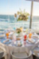 Beach wedding saloon in Portugal