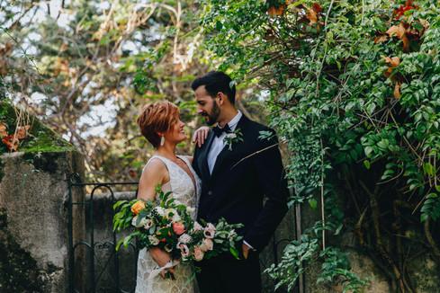 My destination wedding in Portugal.
