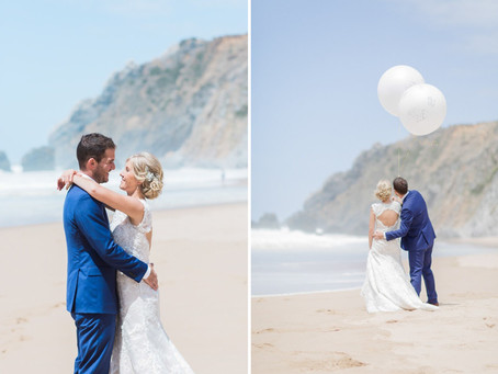 Adraga Beach Wedding Ceremony in Sintra