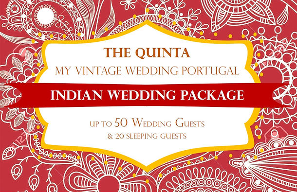 Vintae Wedding Package November to April