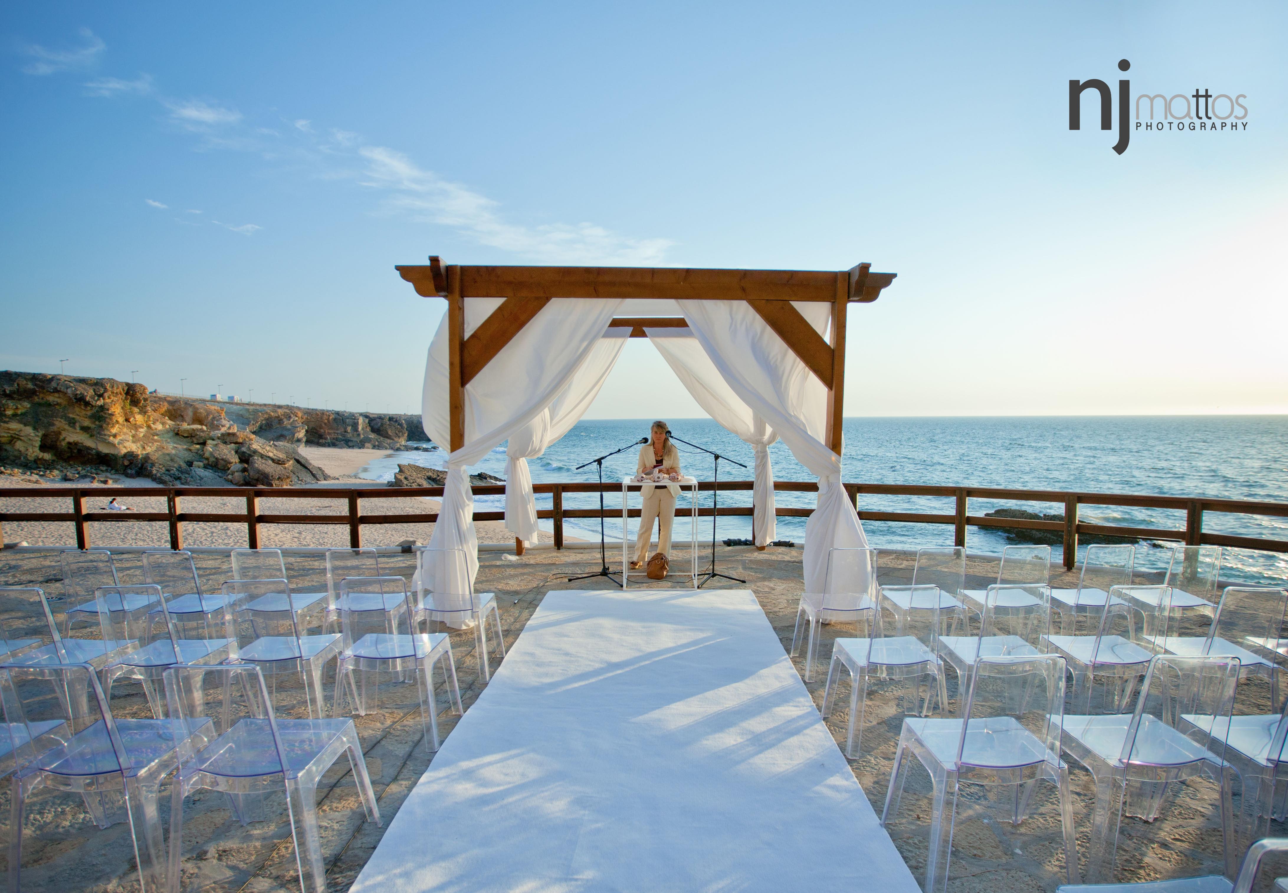 Arriba Wedding Ceremony Portugal