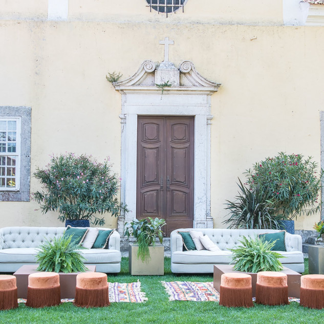Courtyard Garden at Quinta do Torneiro