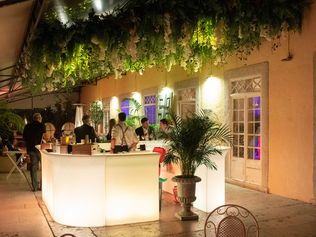 Bar for weddings at Quinta do Torneiro