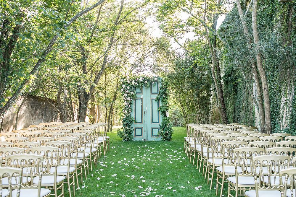 Cerimonia ao ar livre - Quinta do Torneiro