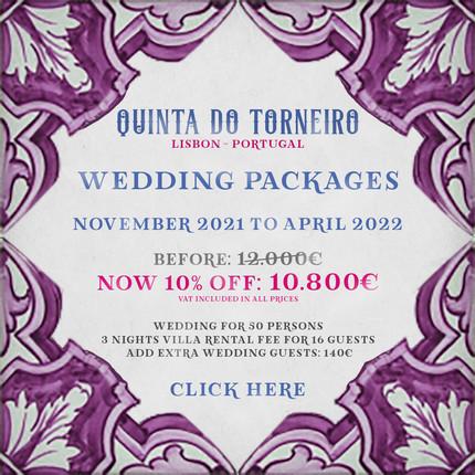 Wedding Package 2021