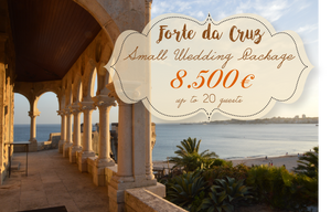 Forte da Cruz Small Wedding Package Portugal