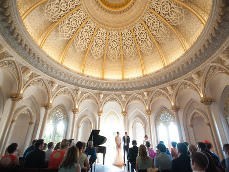 Monserrate Wedding Ceremony in Portugal