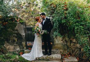 Woodland van Quinta do Torneiro. Outdoor destination wedding in Portugaln