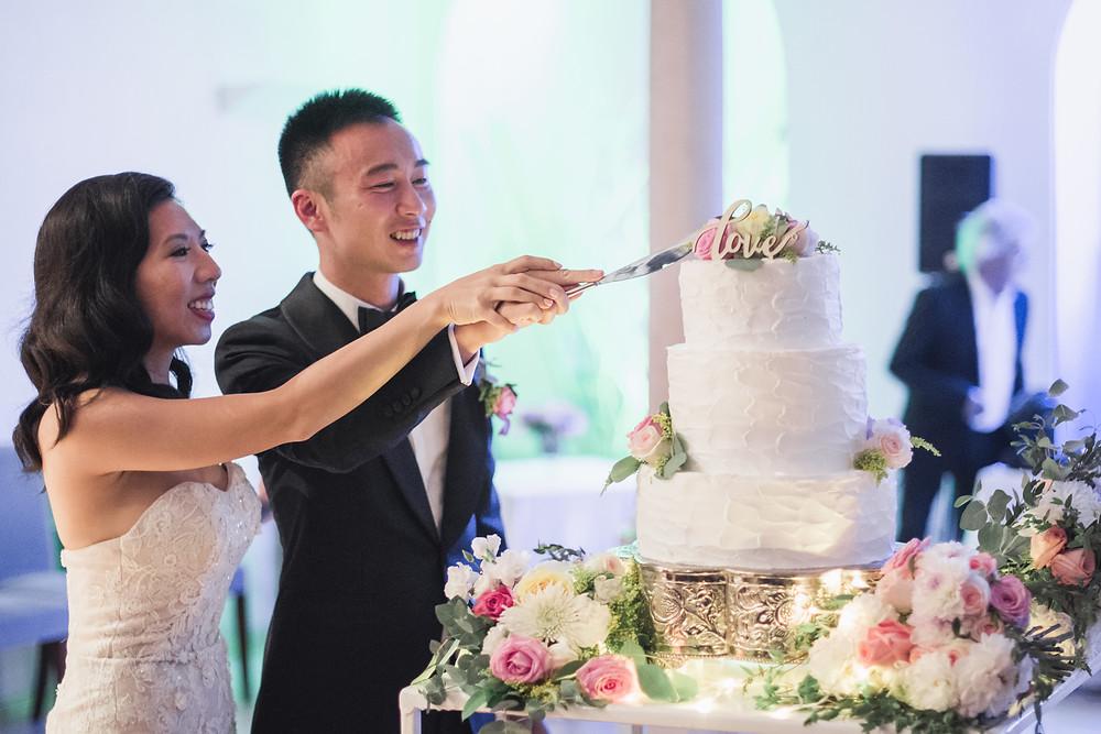Wedding Cake details Portugal