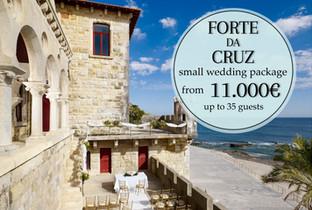 Forte da Cruz Wedding Package - Lisbon Wedding Planner