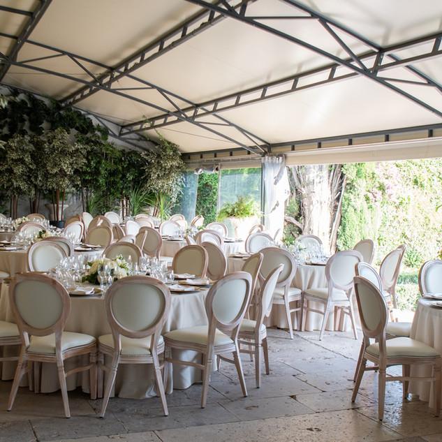 Estufa para casamentos na Quinta do Torn