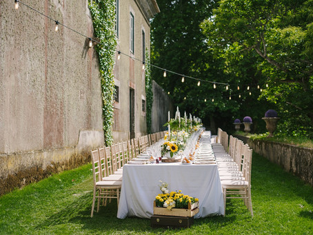 Venue with accommodation at The Quinta - My Vintage Wedding Portugal