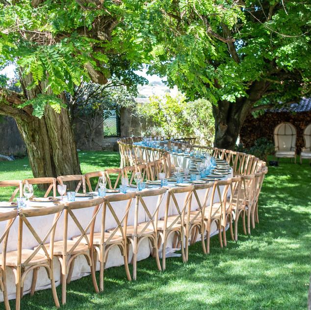 S-tafel bij Quinta do Torneiro