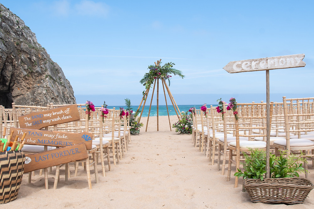 If you're going to have a beach wedding, Portugal is the place to be.