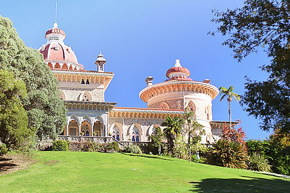 Monserrate Palace Wedding Venue in Portugal