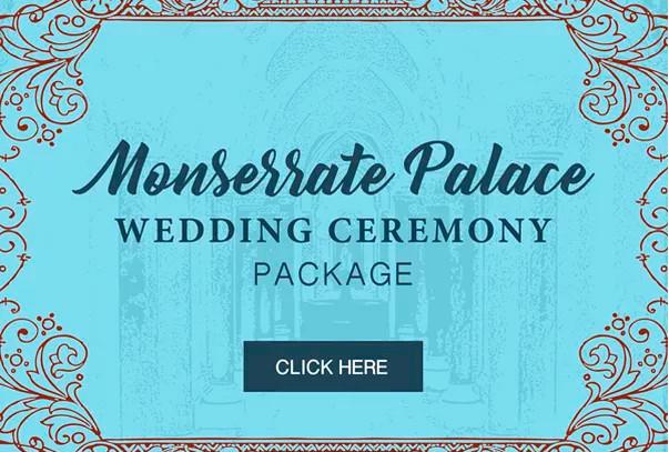 Monserrate Palace Wedding Ceremony