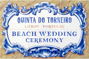 Beach Wedding Ceremony Portugal