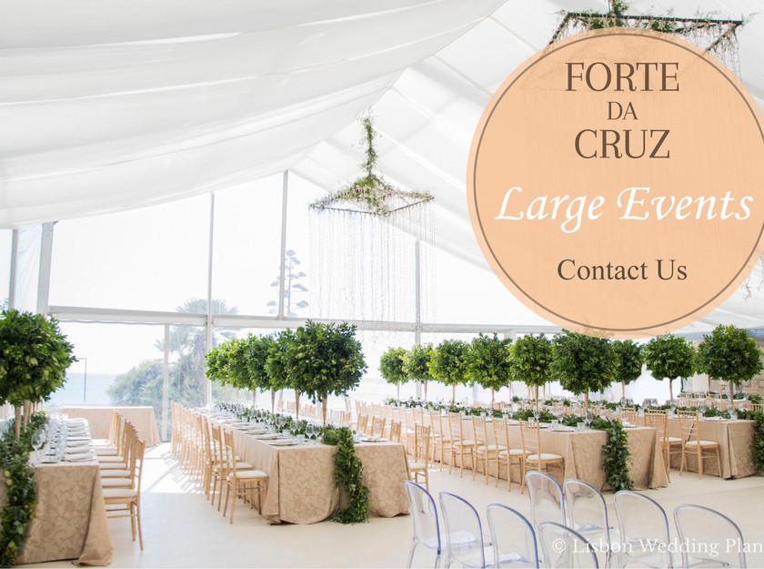 Forte da Cruz Wedding Package