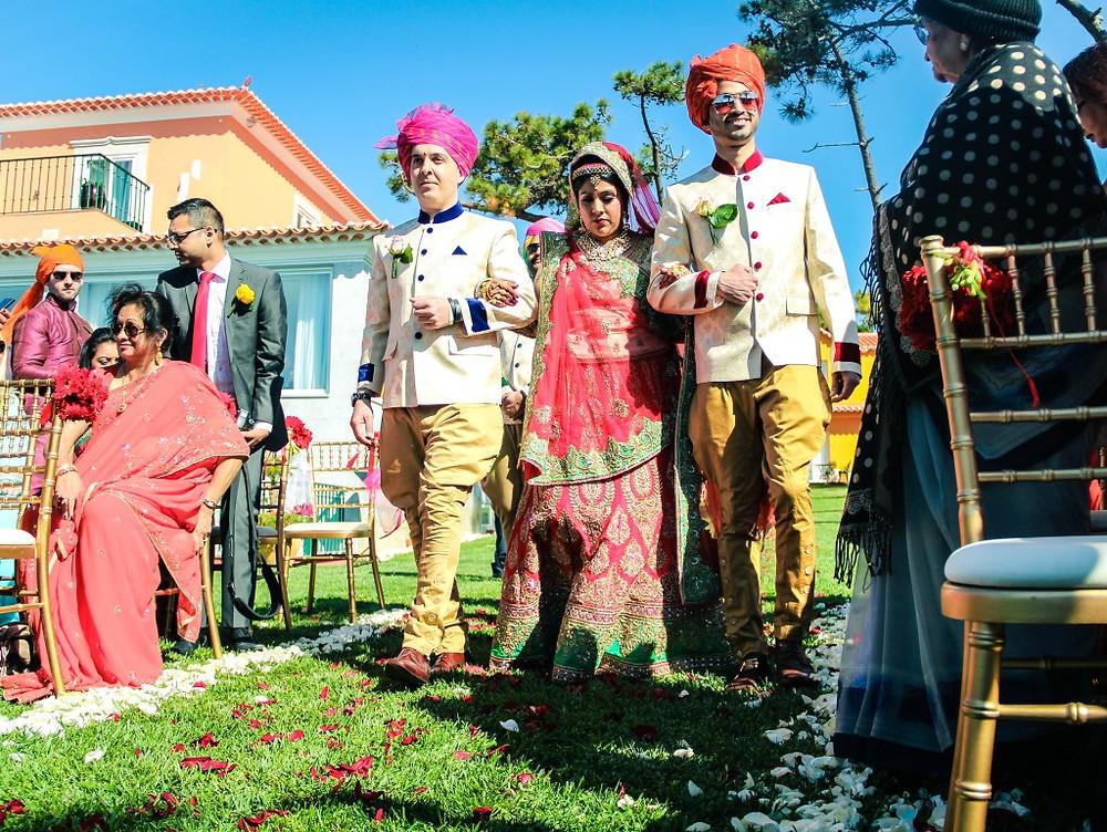 Indian Wedding Ceremony Portugal