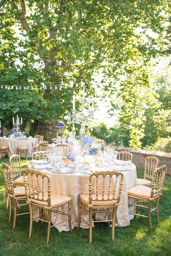 My Vintage Wedding in Portugal Outdoor Wedding Reception