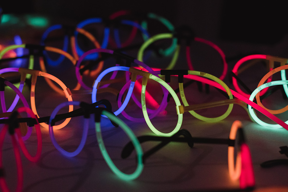 Party Glasses Wedding details