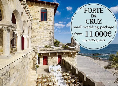 Forte da Cruz Perfect Event Venue for Your Small Wedding in Portugal