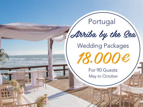 Arriba Wedding Package Portugal - May To