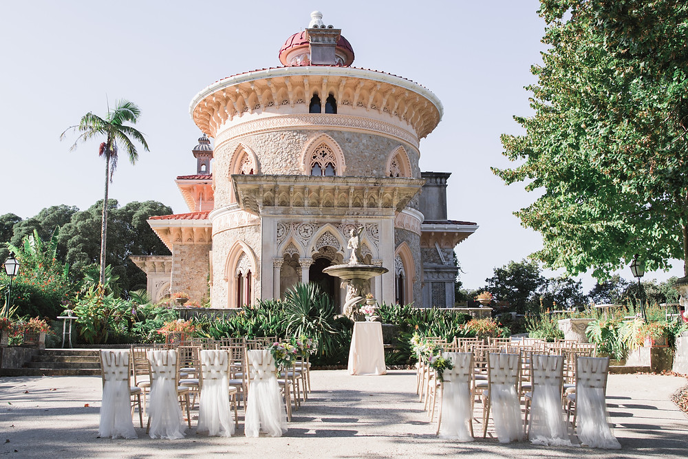 Monserrate Palace Wedding Ceremony Portugal