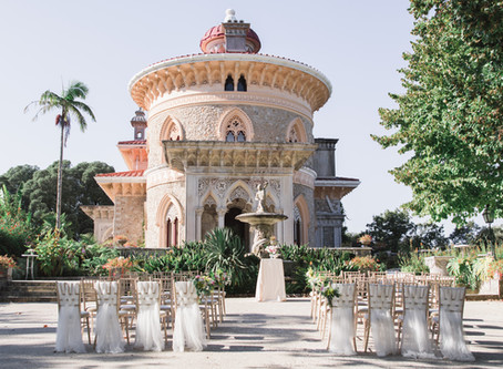Kelly and Kar Real Wedding in Monserrate Palace Sintra Portugal