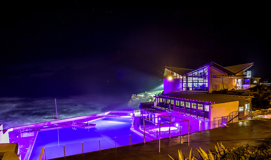 Arriba by the Sea by Night Portugal