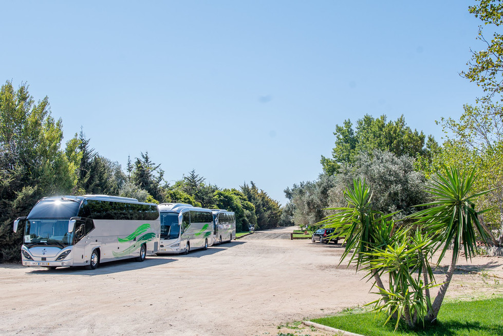 Parking Lot for Events and Destination Weddings at Quinta do Torneiro
