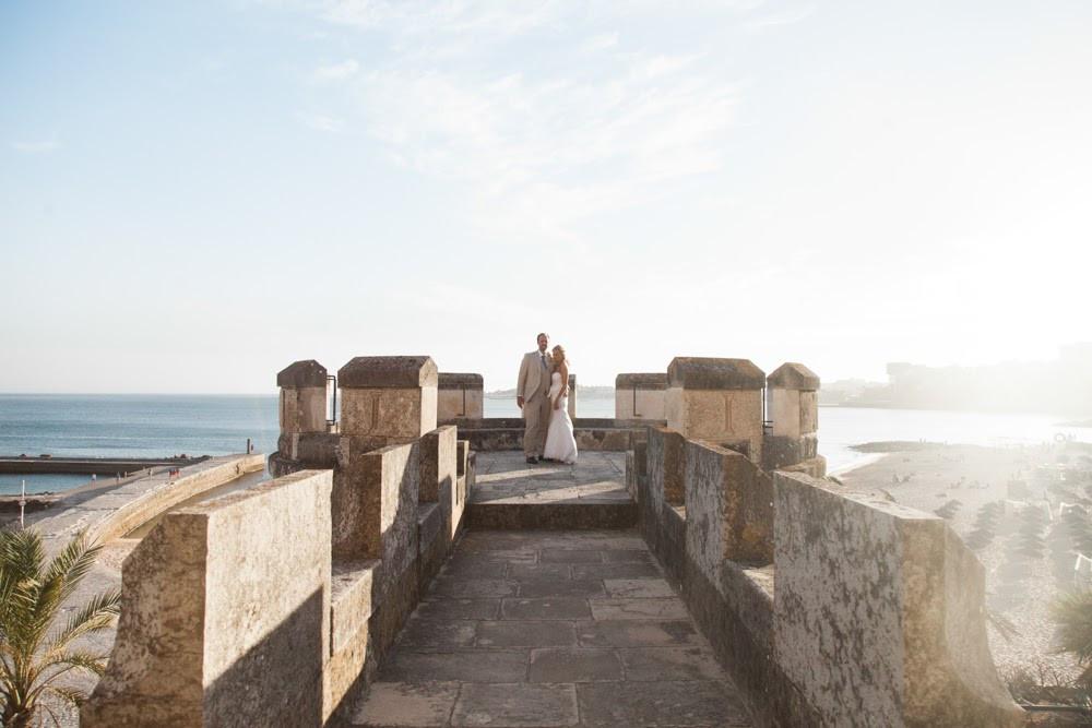 Ocean View from Forte da Cruz Portugal