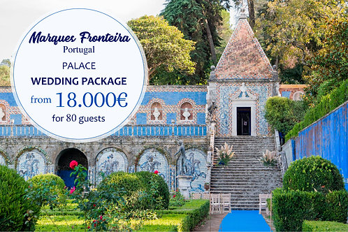 Marques da Fronteira - Wedding Package for 80 Guests