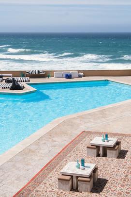 Pool wedding in Portugal