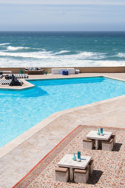 Arria by the Sea Swimming Pool with sea view