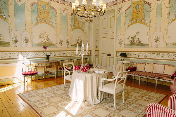 Romantic Dinner for two, at the Hotel Seteais, in  Sintra Portugal