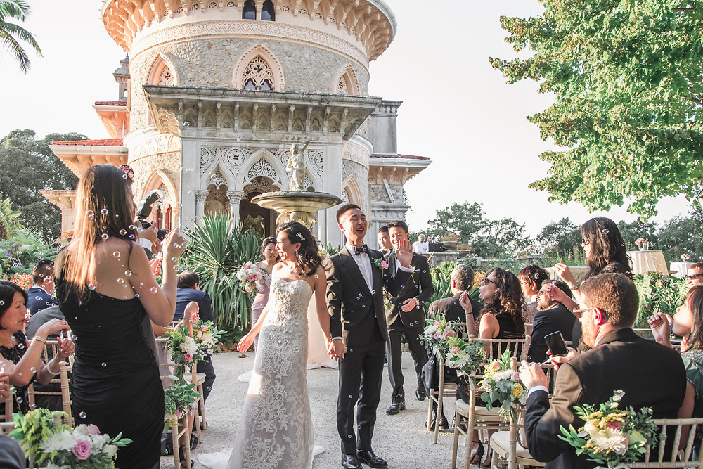 Monserrate Wedding Ceremony Portugal