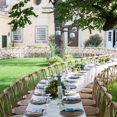Garden wedding at Quinta do Torneiro in